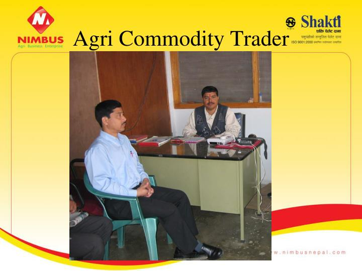 Agri Commodity Trader
