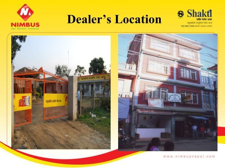 Dealer's Location