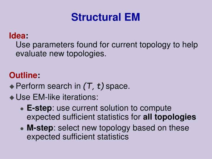 Structural EM