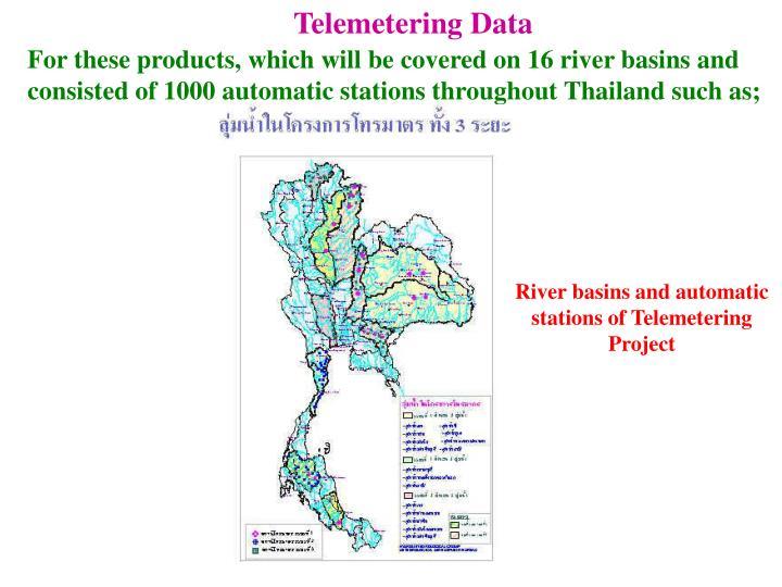 Telemetering Data