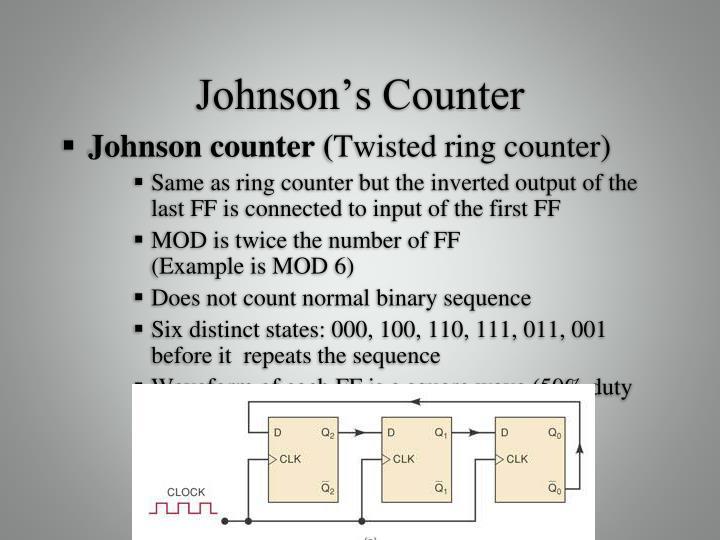 Johnson's Counter