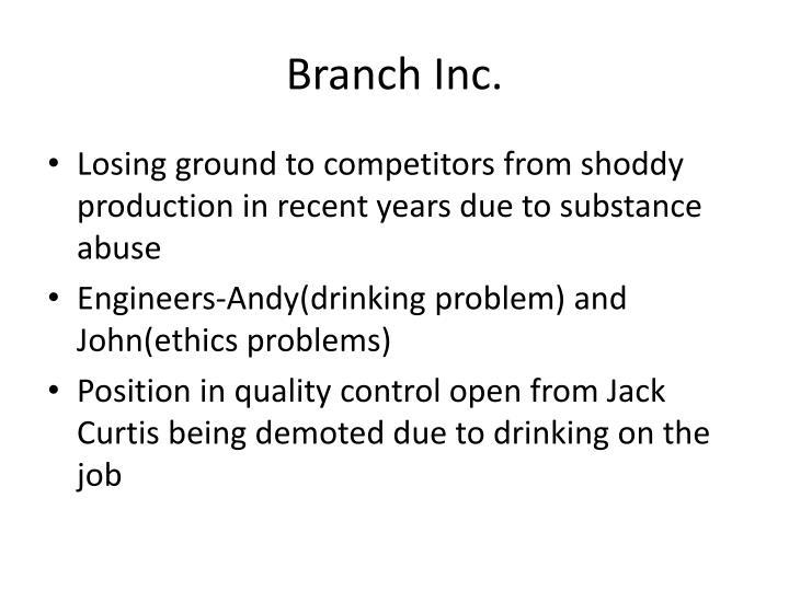 Branch Inc.