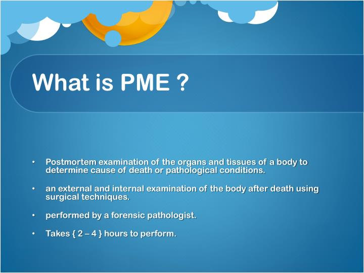 What is pme