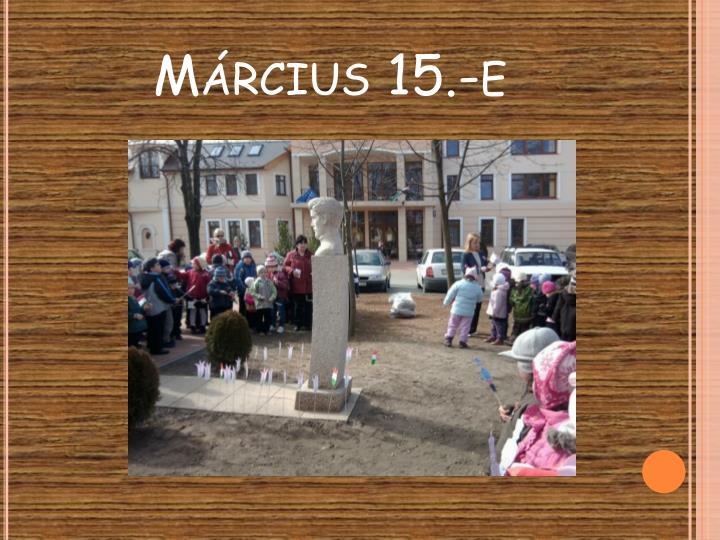 Március 15.-e
