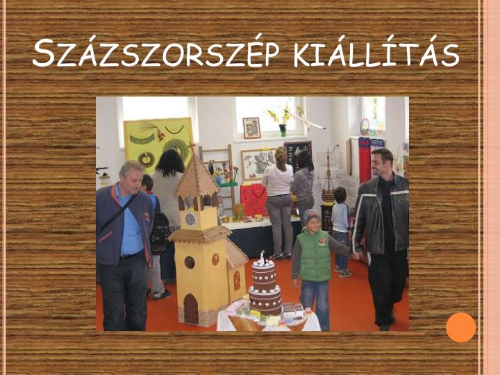 Százszorszép kiállítás