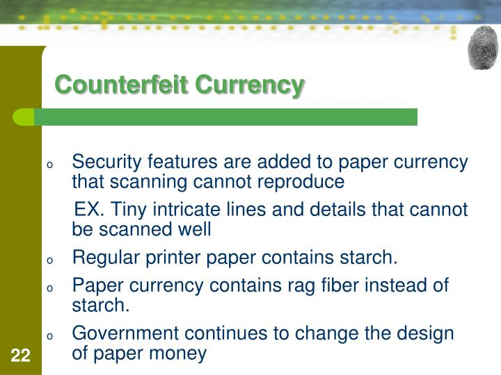 rag paper for counterfeit money Then you are in the right place as here you will acquire complete info on counterfeiting money by the paper to use should have a 25% rag to counterfeit.