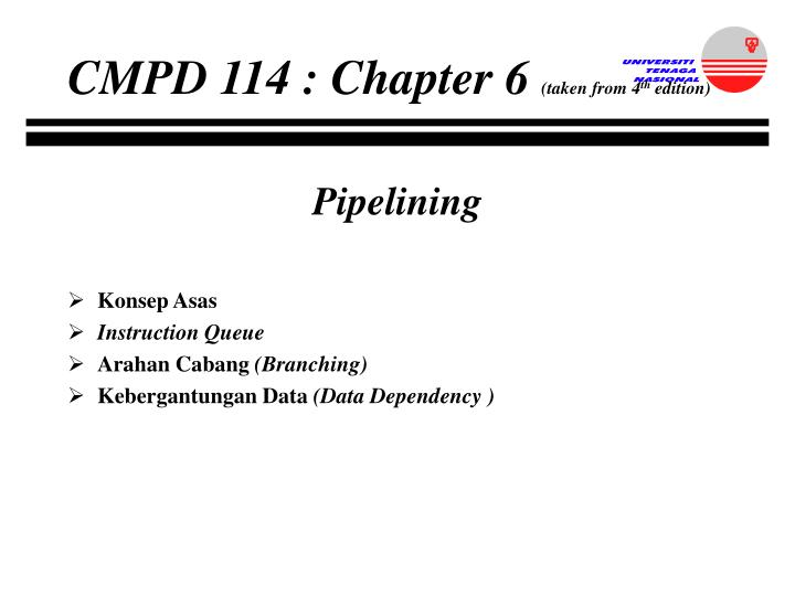 CMPD 114 : Chapter 6