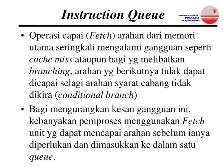Instruction Queue