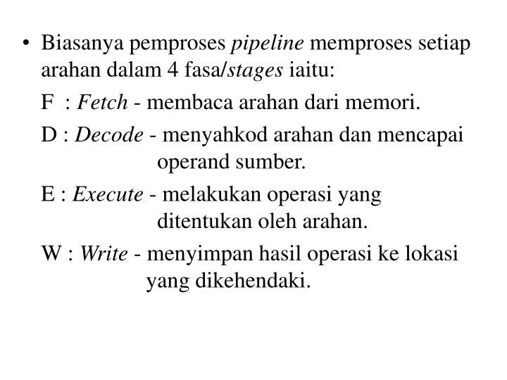 Biasanya pemproses