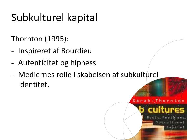 Subkulturel kapital