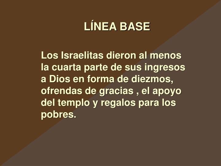 LÍNEA BASE