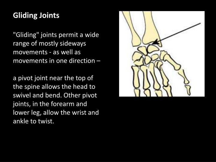 Gliding Joints