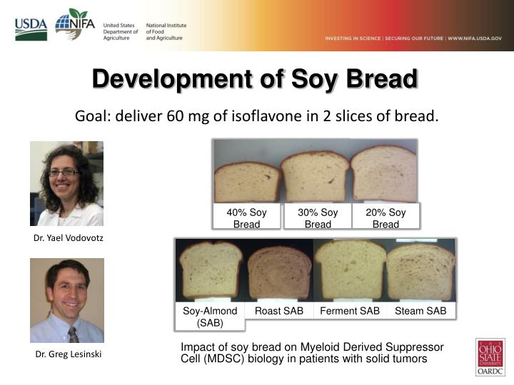 Development of Soy Bread