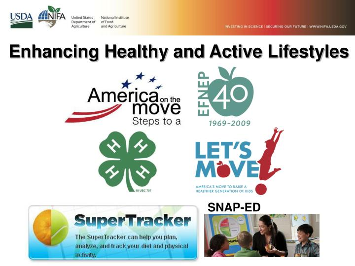 Enhancing Healthy and Active Lifestyles