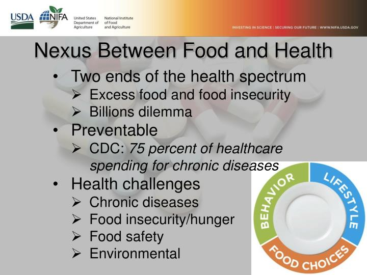 Nexus Between Food and Health