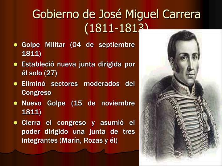 Gobierno de José Miguel Carrera (1811-1813)