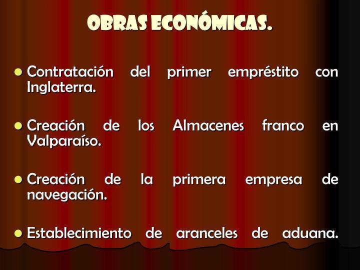 Obras Económicas.