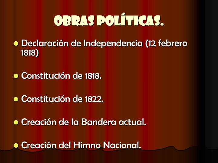 Obras Políticas.