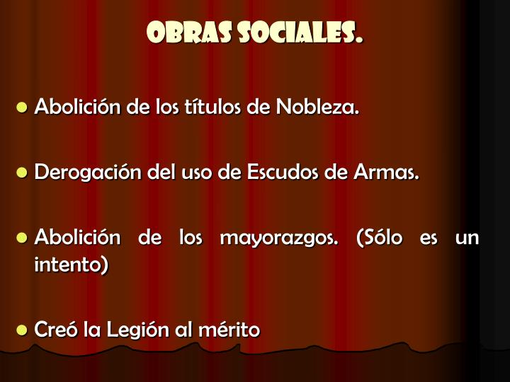 Obras Sociales.