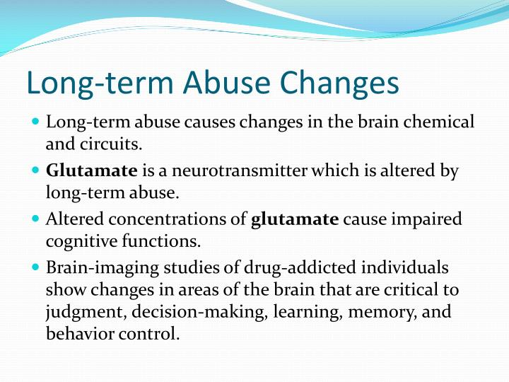 Long-term Abuse Changes