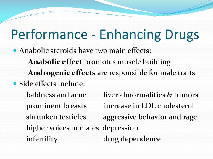 Performance - Enhancing Drugs