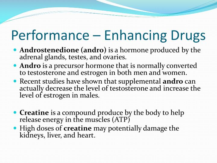 Performance – Enhancing Drugs