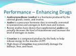 performance enhancing drugs1