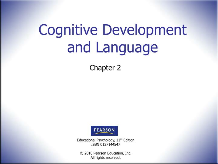 Cognitive development and language