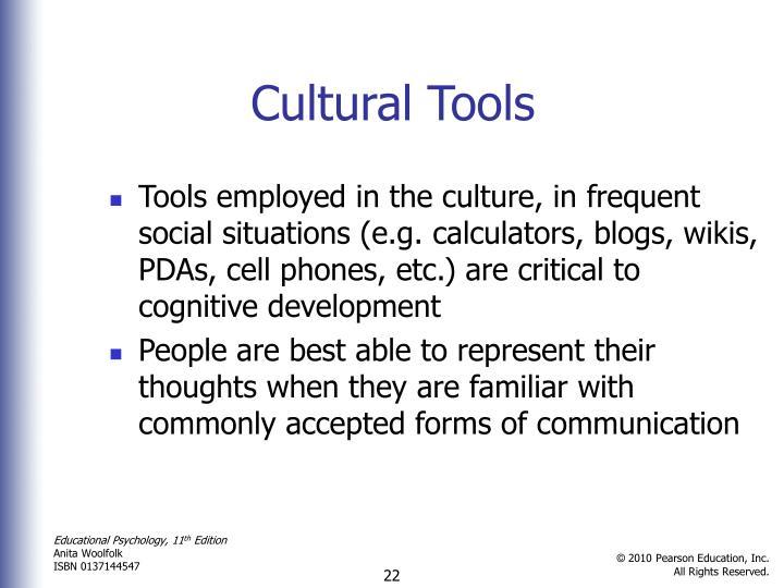 Cultural Tools
