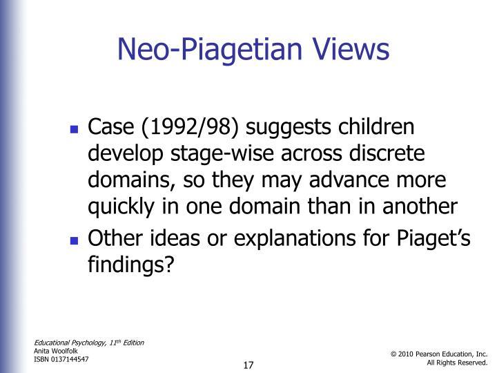 Neo-Piagetian Views
