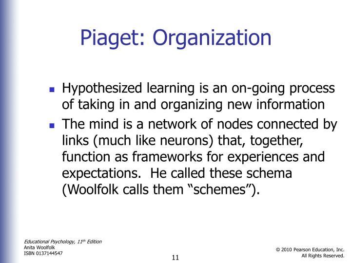 Piaget: Organization