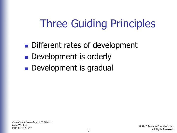 Three Guiding Principles