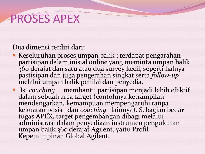 PROSES APEX