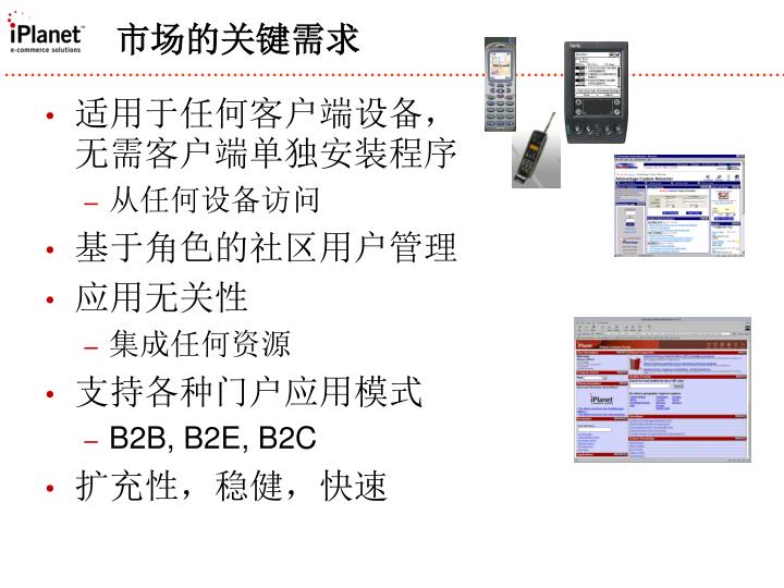 适用于任何客户端设备,无需客户端单独安装程序
