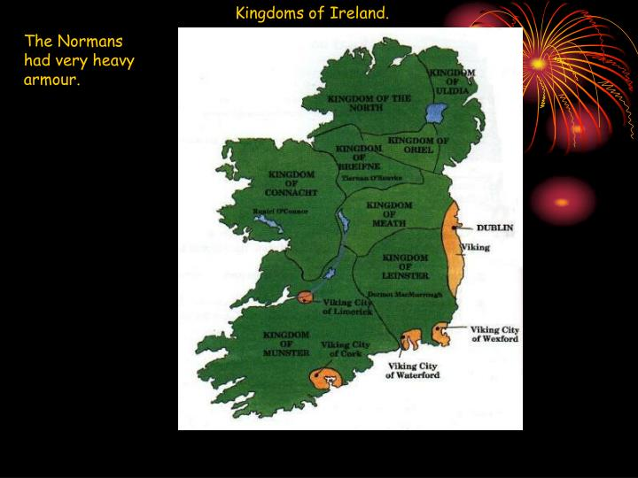 Kingdoms of Ireland.