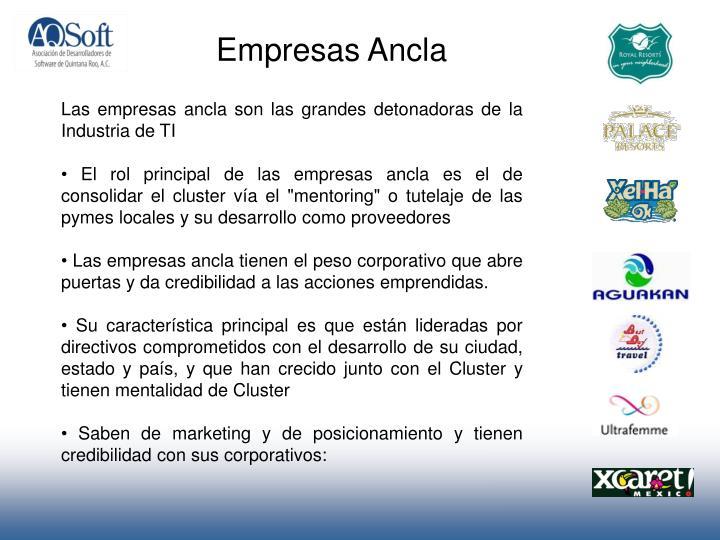 Empresas Ancla