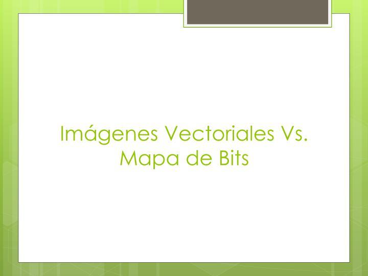 Imágenes Vectoriales Vs.