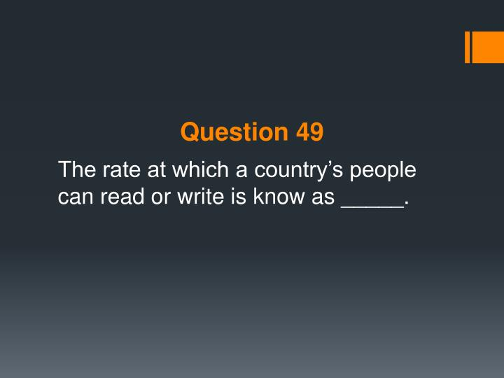 Question 49