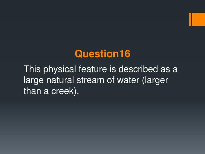 Question16