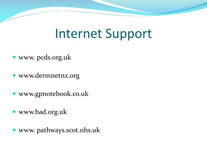 Internet Support