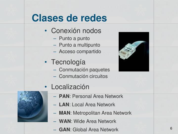 Clases de redes
