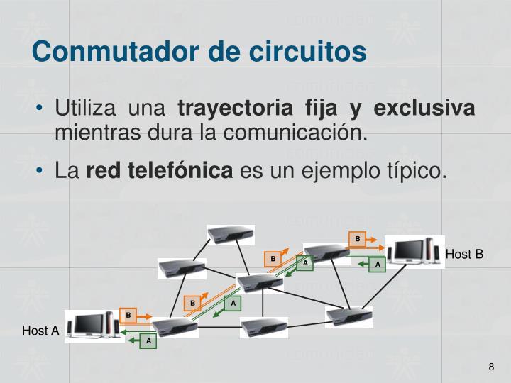 Conmutador de circuitos