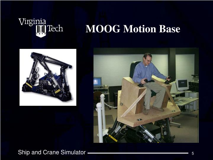MOOG Motion Base