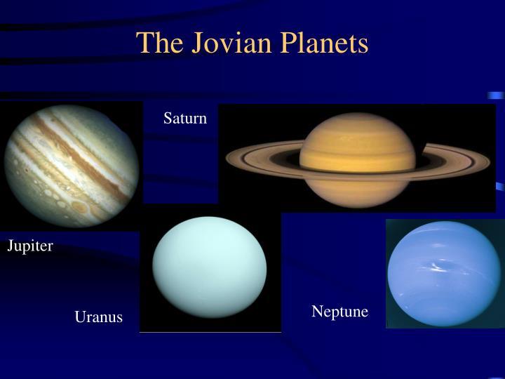 jovian planets density - photo #7