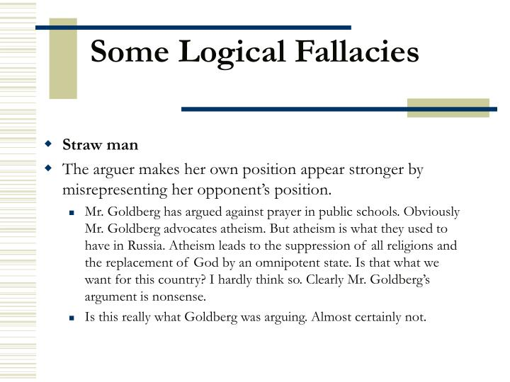 Some logical fallacies2