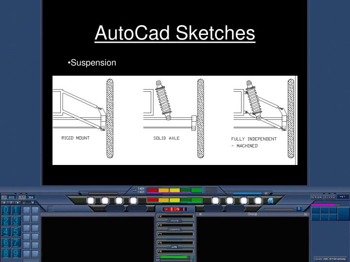 AutoCad Sketches