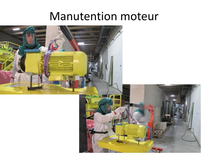 Manutention moteur