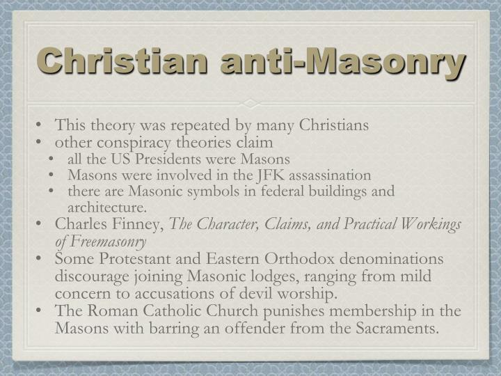 Christian anti-Masonry