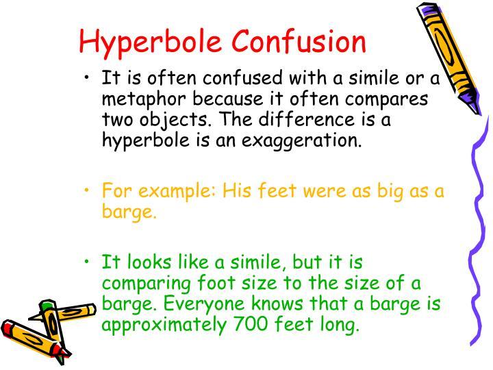 Hyperbole Confusion