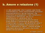 b amore e relazione 1